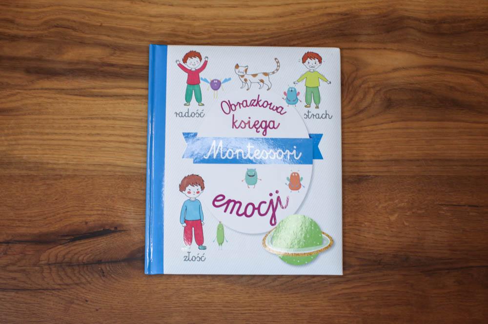 obrazkowa księga emocji montessori - książki o emocjach dla dzieci