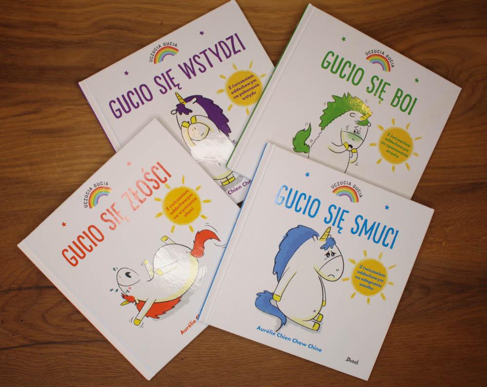 nauka emocji u dzieci - 10 najlepszych książek
